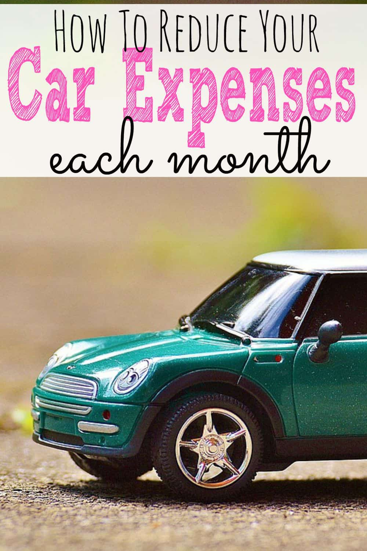 How To Reduce Car Exoenses