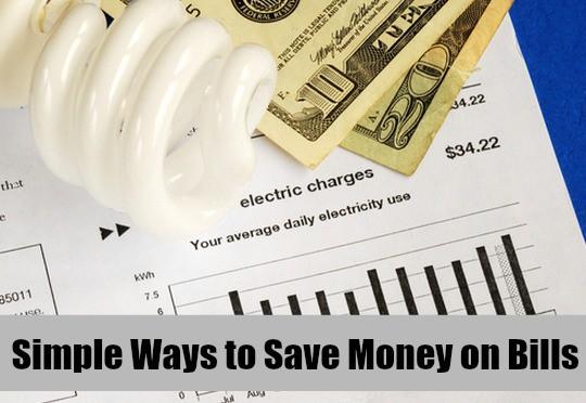 Simple Ways to Save Money on Bills