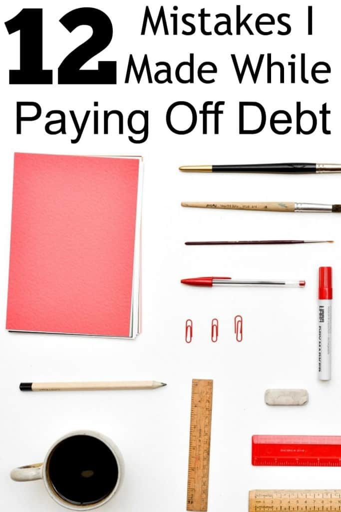 Here were plenty of dumb mistakes I made while paying off debt. Regardless, the story ends well and I paid off $7,661 in total debt while putting my hubby through school!