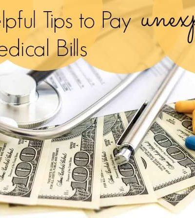 Tips for how to pay unexpected medical bills