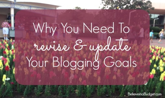 Why you Need Blogging Goals