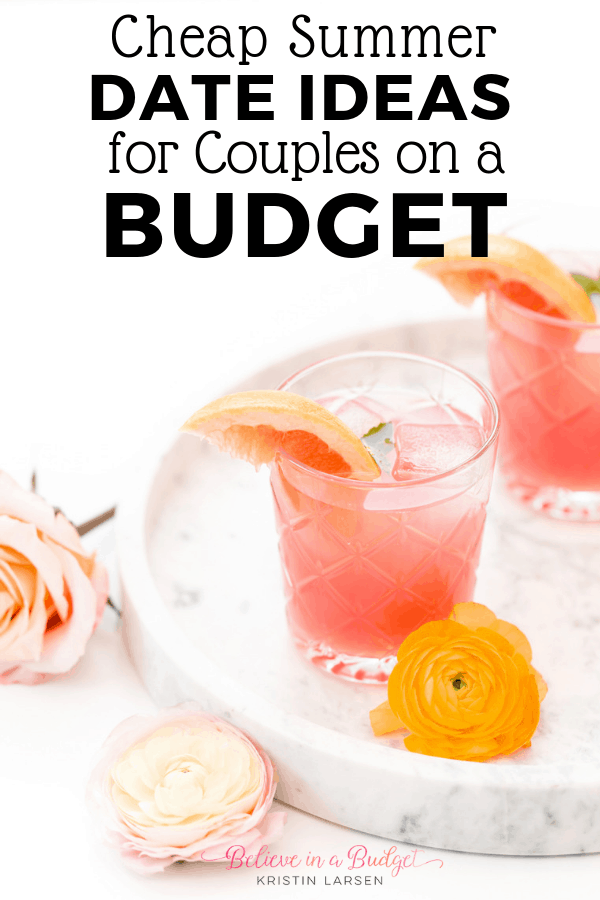 If you are looking for cheap things to do in the summer as an adult or as a couple, check out these dates ideas for couples on a budget!