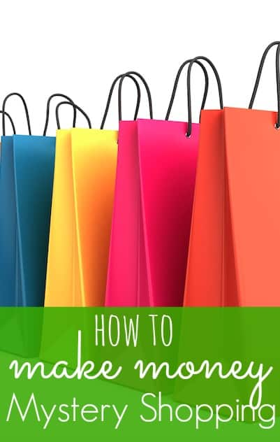 Make Money Mystery Shopping