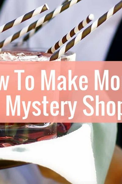 Learn how to make money mystery shopping
