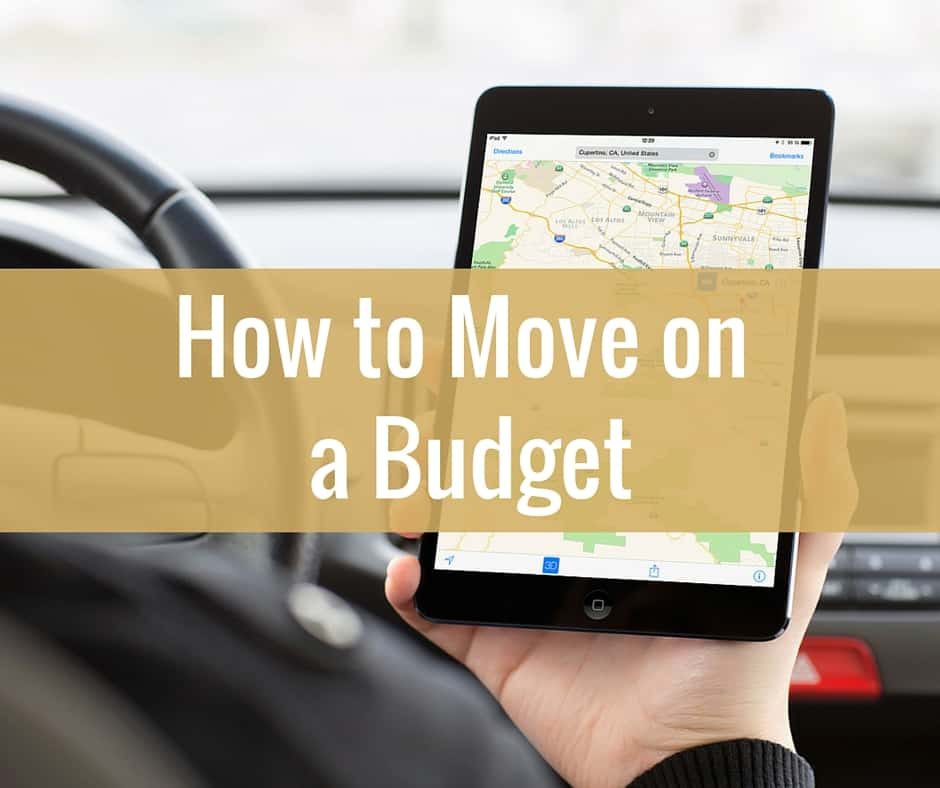 How To Move Across The Country On A Budget