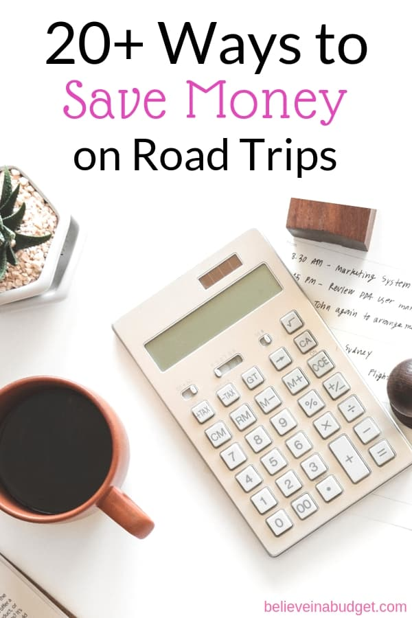 Learn how to budget and save money on road trips and how to save money moving across the country.