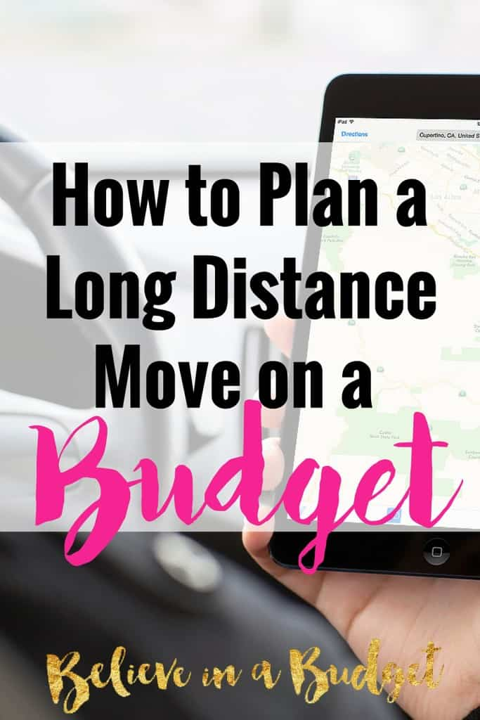 Learn how to move across the country on a budget. Moving long distance can be hectic and stressful, but it can be done. I'm sharing how to move across the country on a budget as I've now done it twice! These helpful moving tips will show you how to plan your route, how to pack your car, how to travel with pets and more!