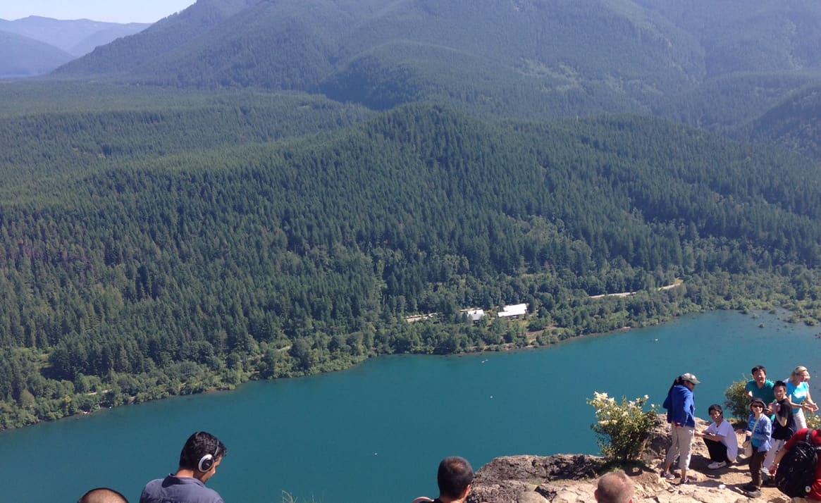 Ridge Hike Seattle Hike Rattlesnake Ridge