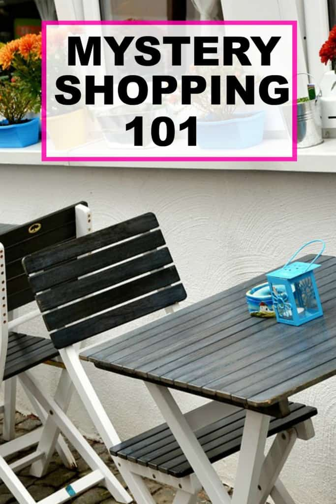 Mystery shopping can be overwhelming when starting out. This is a basic 101 guide to help you get started with mystery shopping.