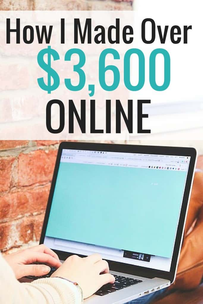 I made over $3600 online last month. I detail exactly how much money I make from ads, freelancing and affiliate income. I have been blogging for almost a year, so this is so exciting! I also include my page views for reference.