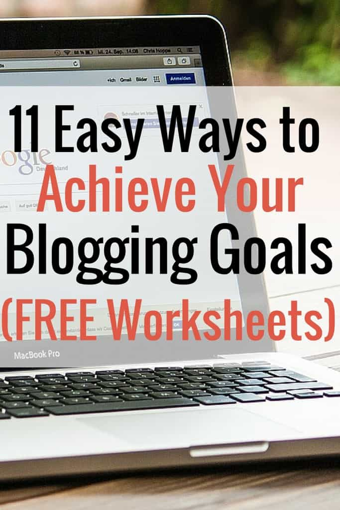 NOW is the time to work on your blog and achieve your bloggiing goals. I'm sharing 11 easy ways to work on your blog that will help make your life easier!