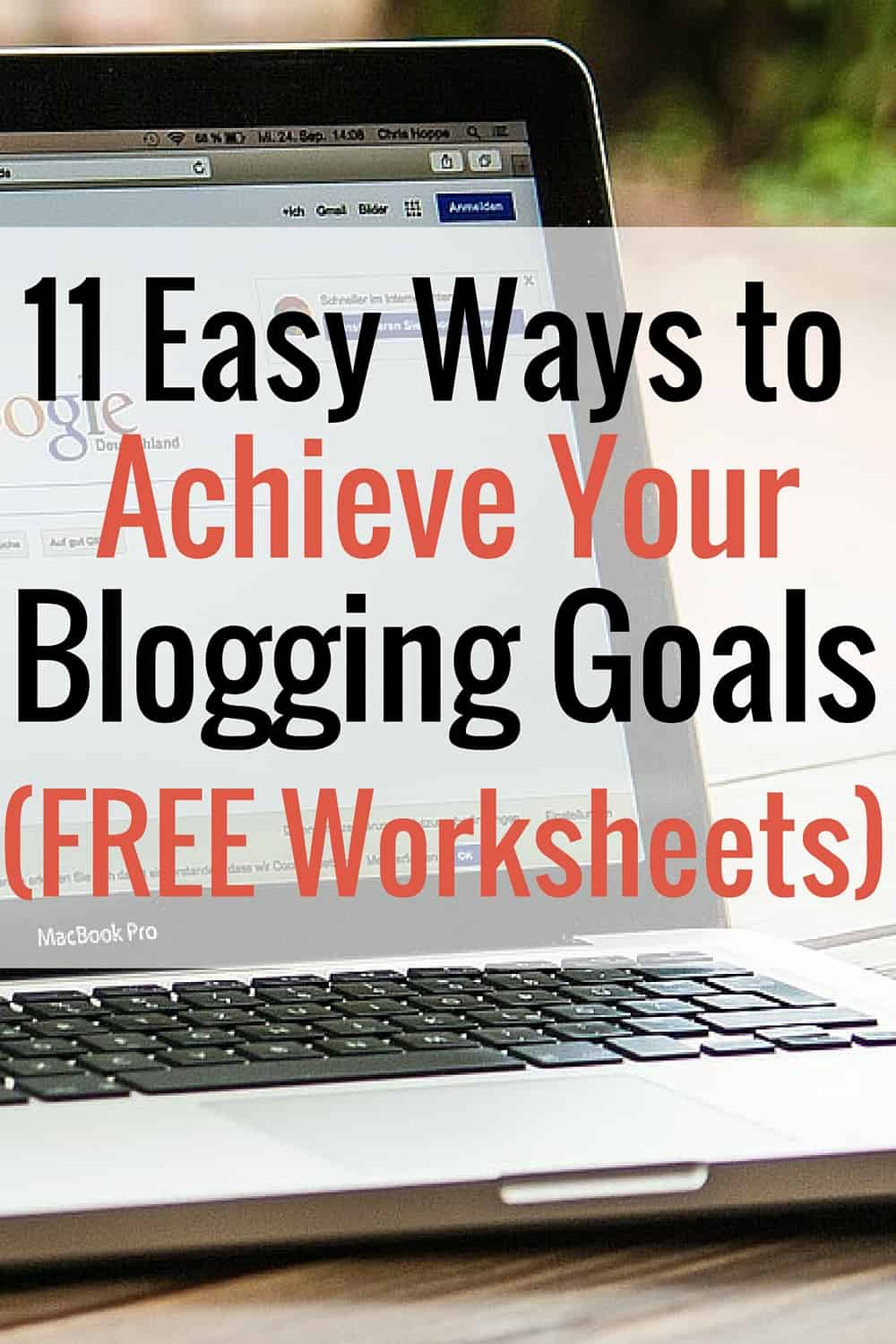 Get a Jumpstart on Your Blogging Goals With FREE Worksheets – Jumpstart Worksheets