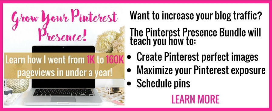 Pinterest Presence Learn More