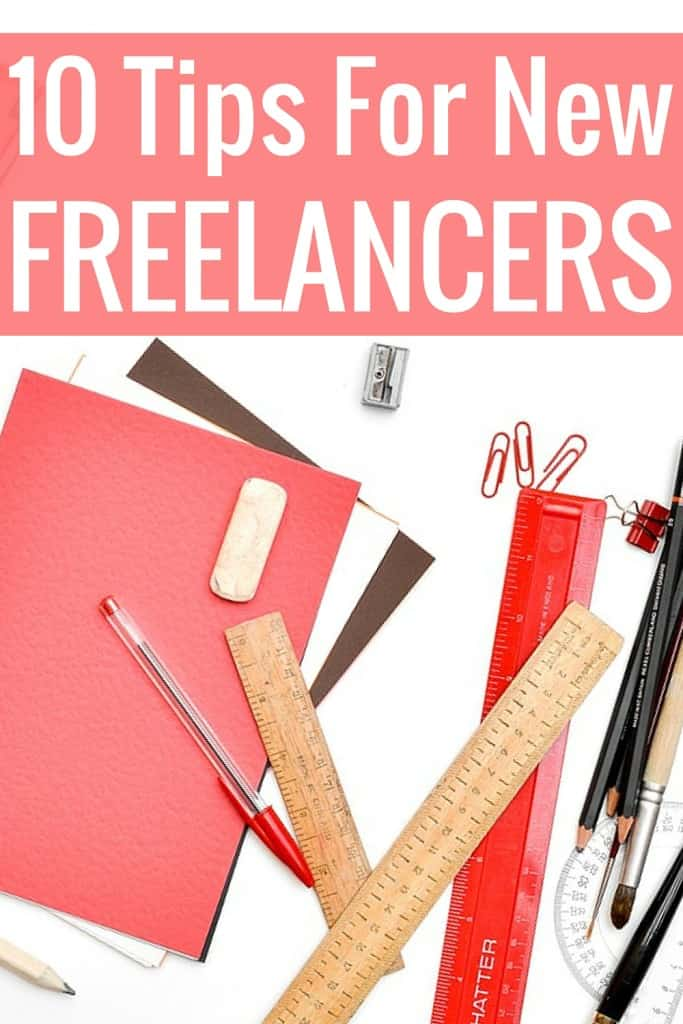 Here are 10 tips for new freelance bloggers that work from home. These are really helpful tips!