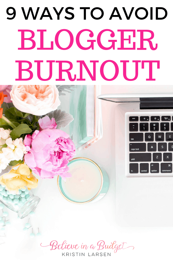 Starting a blog is a great way to earn extra income and even become a full time online job. Here are nine ways to avoid and overcome burnout as a blogger.