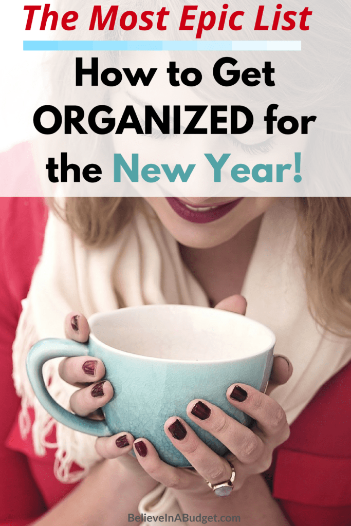 Get organized! Here is an epic list to help organize your life! These are great tips!