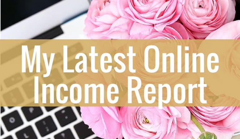 Online Income Report For December