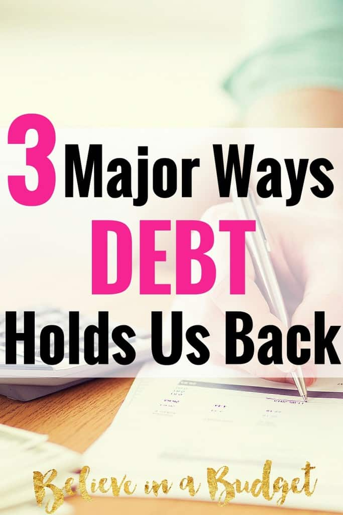 Living the American Dream can often times include having student loan debt. Here are three ways having debt can influence your daily living and personal finances.
