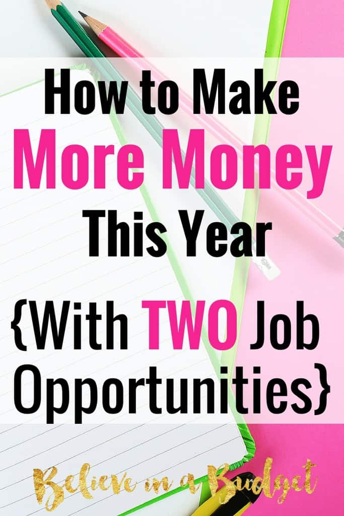 I am all about the side hustle. I have made more than $7,000 from side hustling the past two years in addition to my full time job. Here are 2 new jobs I had never even heard of that almost anyone can do from home.