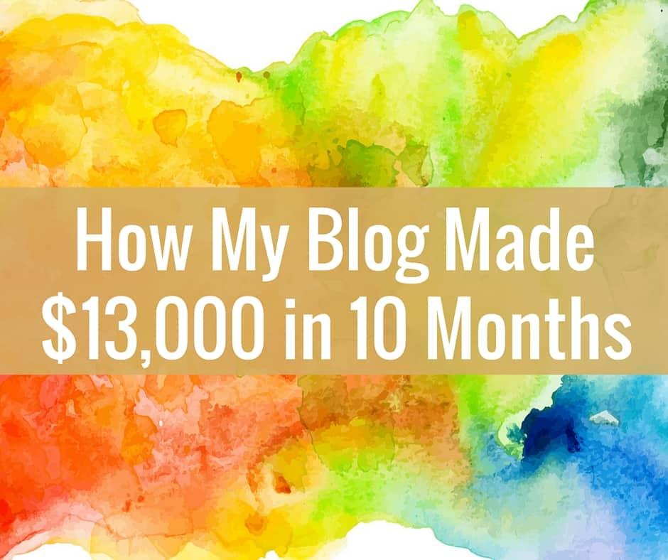 Elite Blog Academy: How I Made $13,000 as a New Blogger