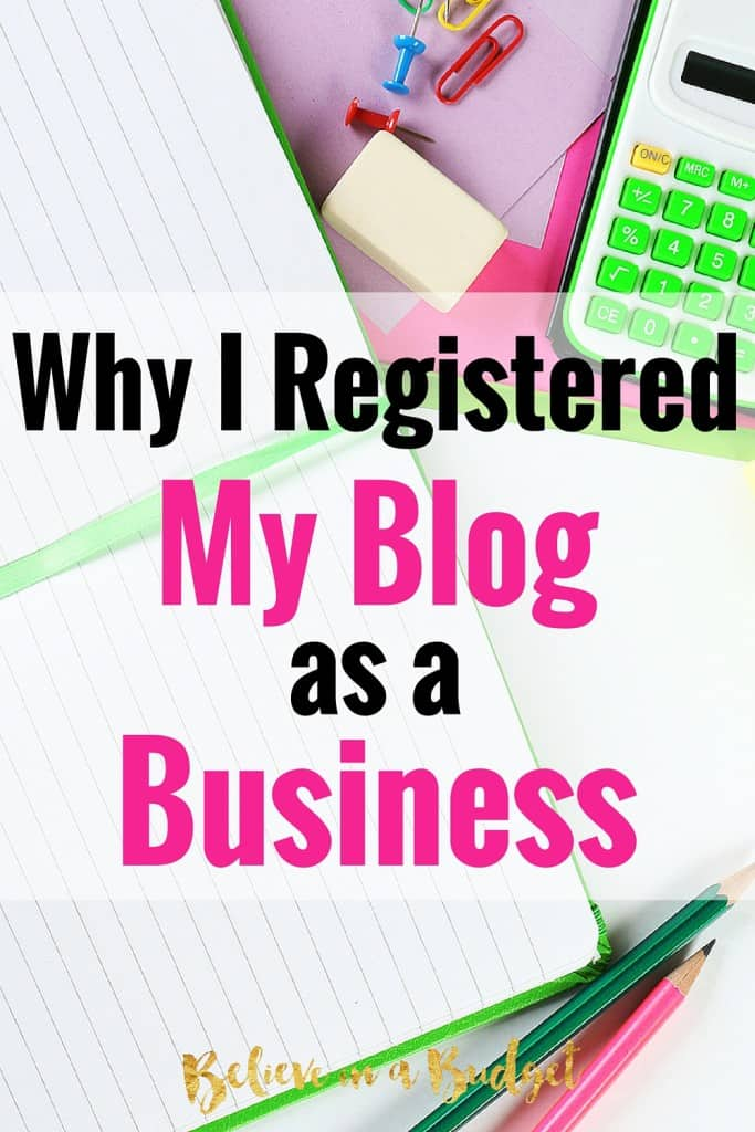 As a freelancer and an entrepreneur, I decided to register my freelance business and blog as a business. Here are some of the reasons I decided to do this!
