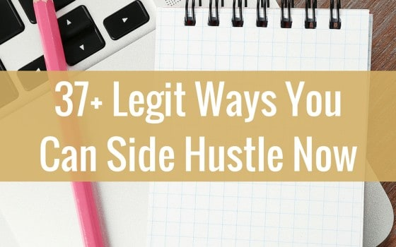 Epic List of Side Hustle Ideas