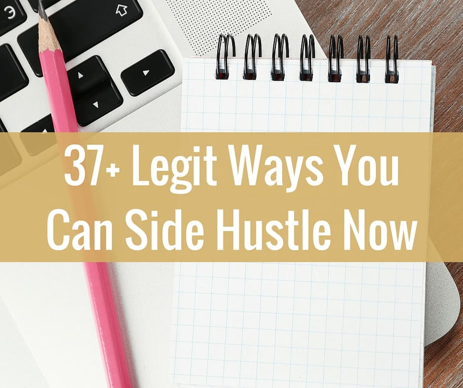 Epic List of Side Hustle Ideas