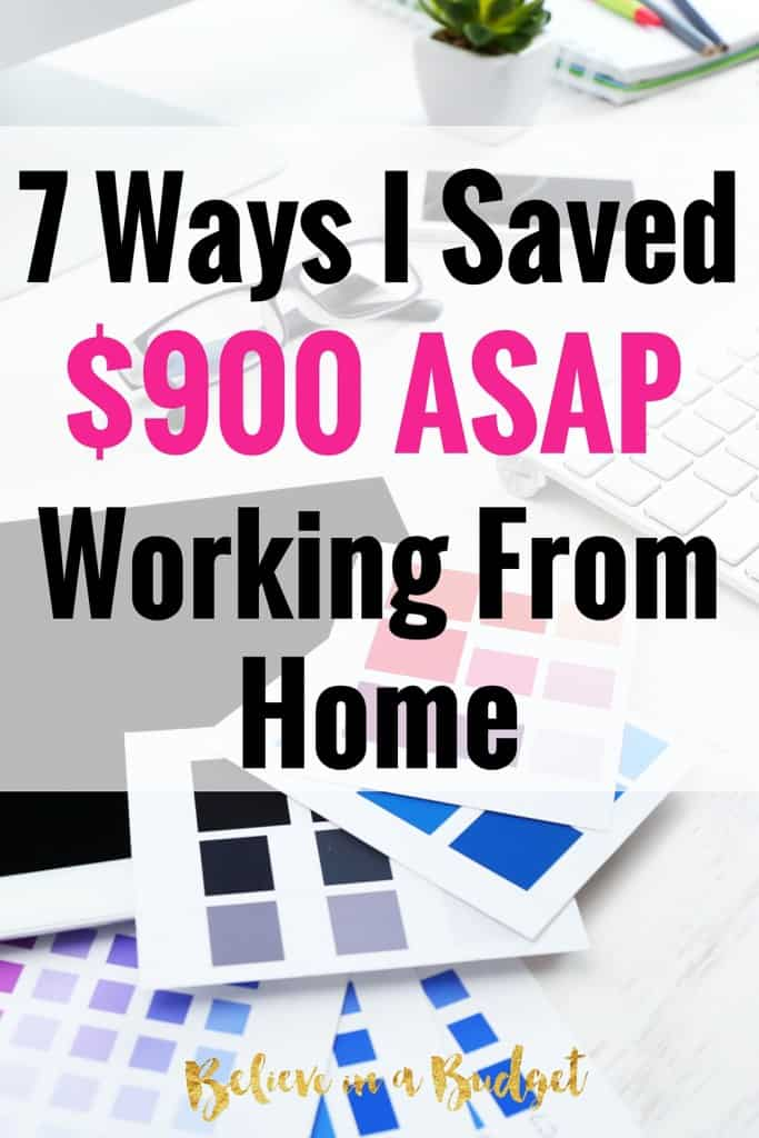 If you are a freelancer or work from home, there are so many ways to save money. I saved over $900 when I started looking at my bills and expenses. Here's how I did it!