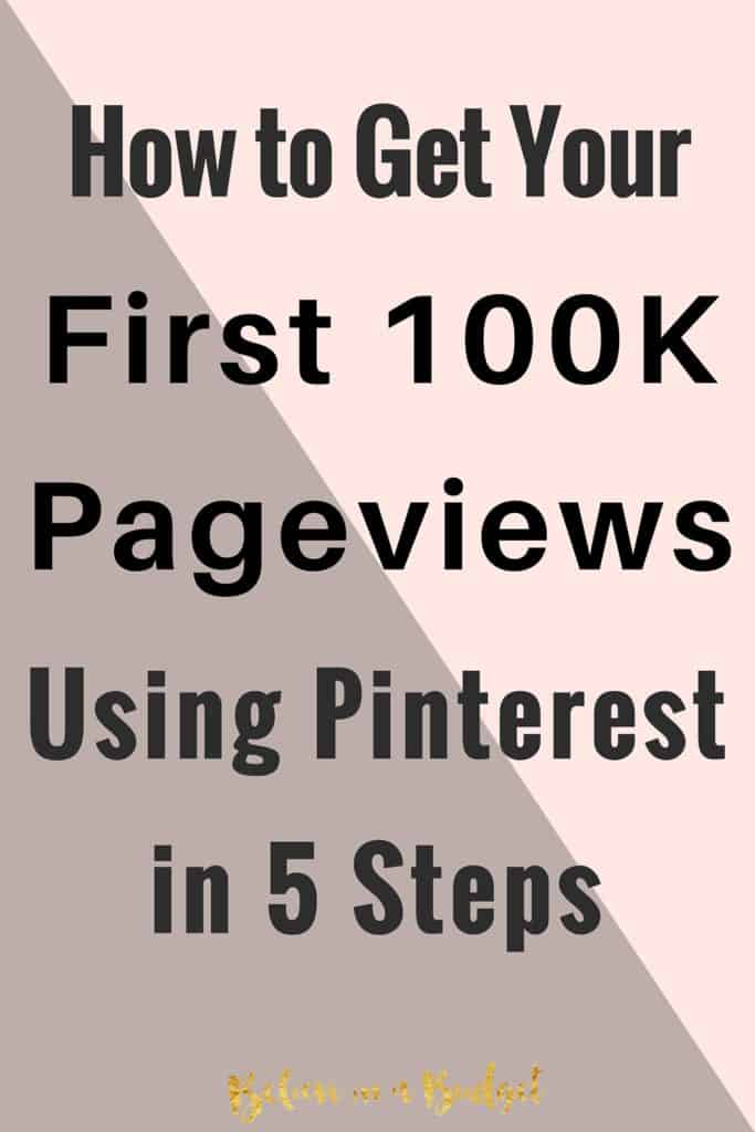Pinterest is my number one source fore referral traffic to my blog. Learn how I get over 90% of my traffic from Pinterest each month.