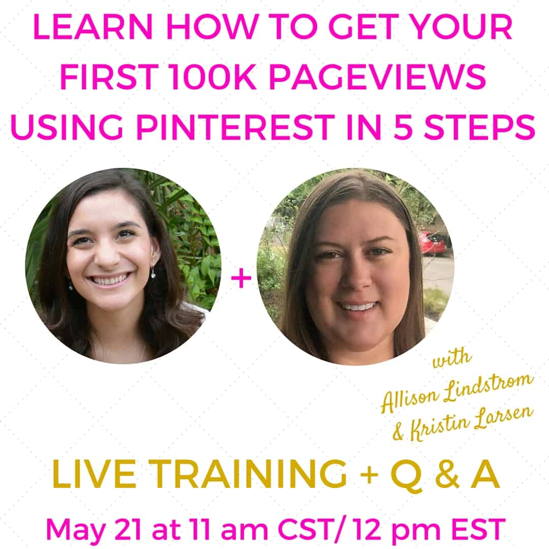 How to Get Your First 100K Pageviews Using Pinterest