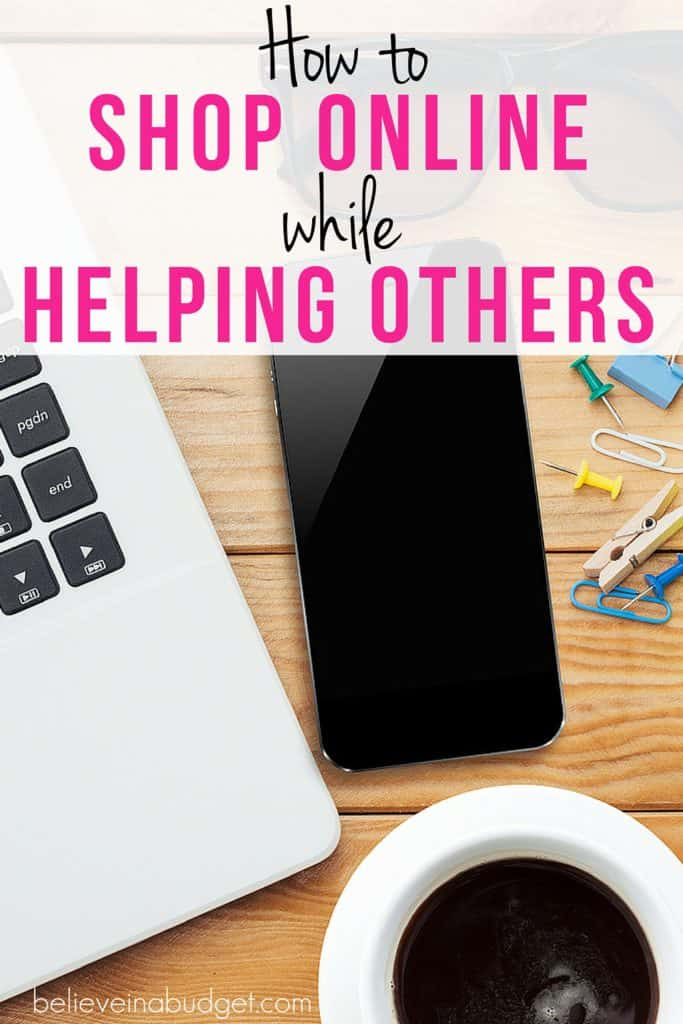What if I told you there was a way you could help others in need without doing anything different in your routine? If you like shopping online, I found a website that will donate a small percentage to they charity of your choice. Here's how!