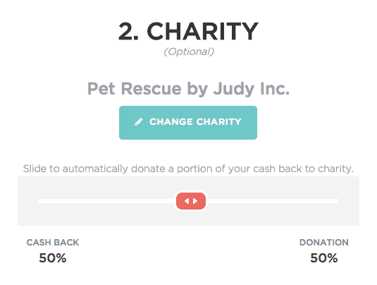 Charity Slider