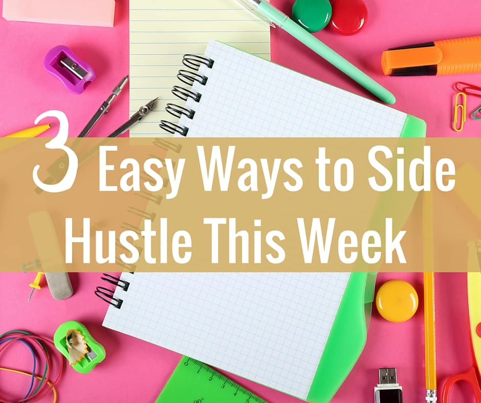 3 Easy Ways to Side Hustle