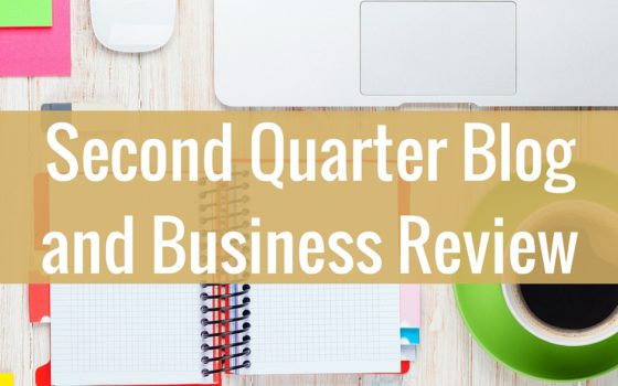 Second Quarter Review of Blog Goals