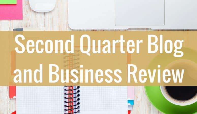 Second Quarter Review of Blog Goals
