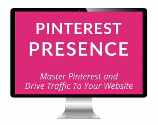 Pinterest Presence Course Signup
