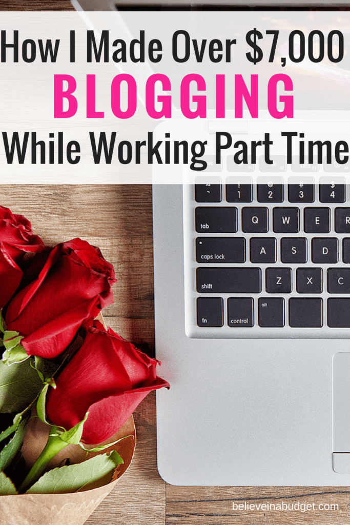 Hotw to make money blogging | Blog income report