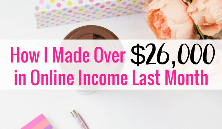 January Online Income Report