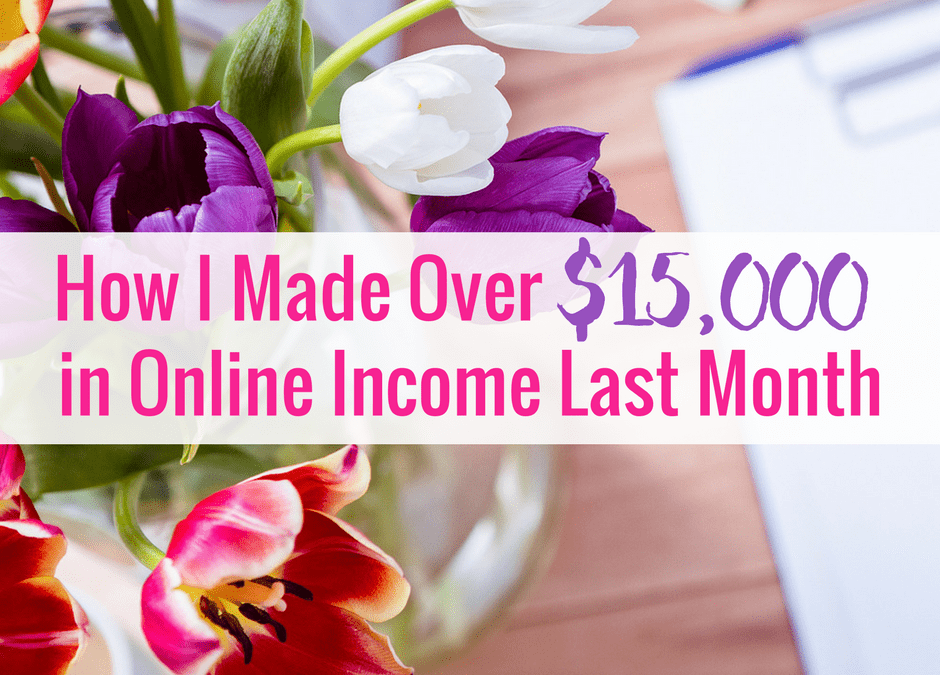 February Online Income Report