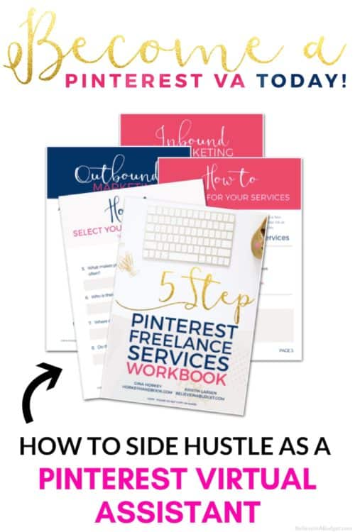 Start a freelance a career as a Pinterest virtual assistant. Learn how to make a living online as a Pinterest VA.