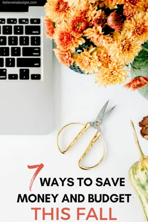 Here are seven ways to budget and save money this fall. There are so many free and budget friendly ways to save money during the fall season! Check out this list!