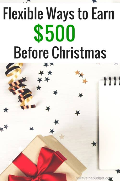 Need to make money for Christmas? Here are six easy ways to make money for the holidays!