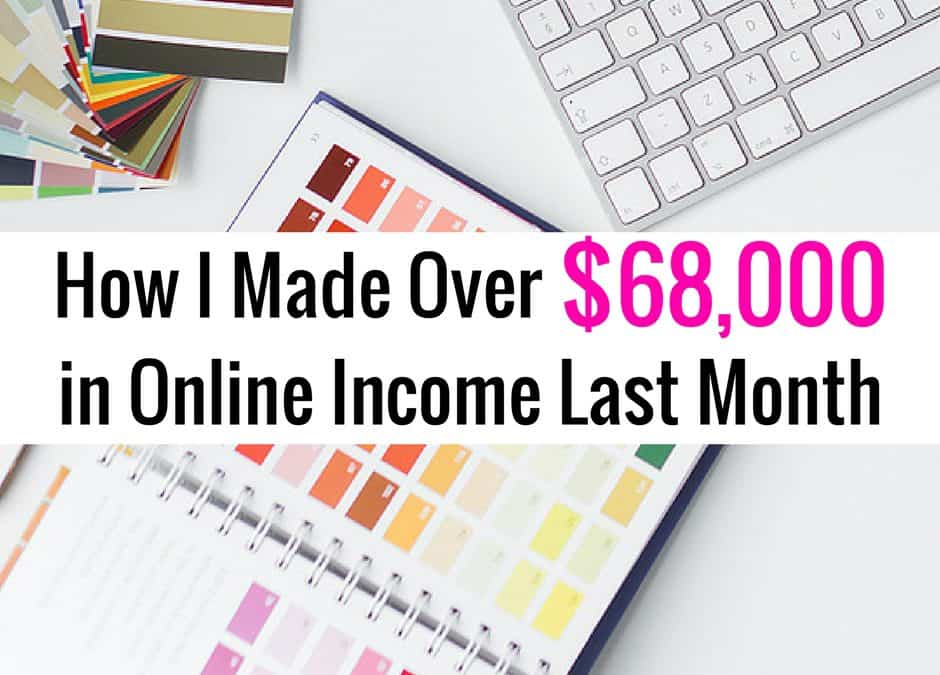 September Online Income Report
