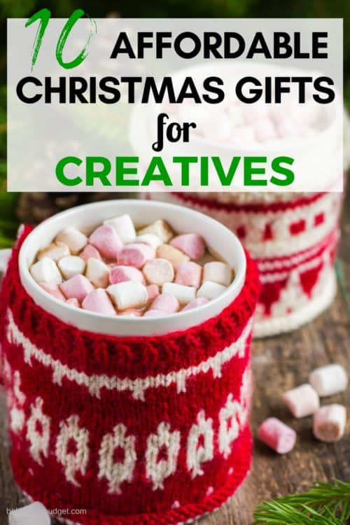 Not sure what gift to buy for a creative? Here is a top 10 list of gift ideas for artists, designers, bloggers and other creative entrepreneurs!