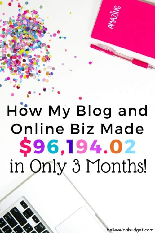 Check out this blog income report! This article is about how one blogger made almost $100,000 in only 3 months! If you are a brand new blogger or an experience blogger, this is some serious #motivation!