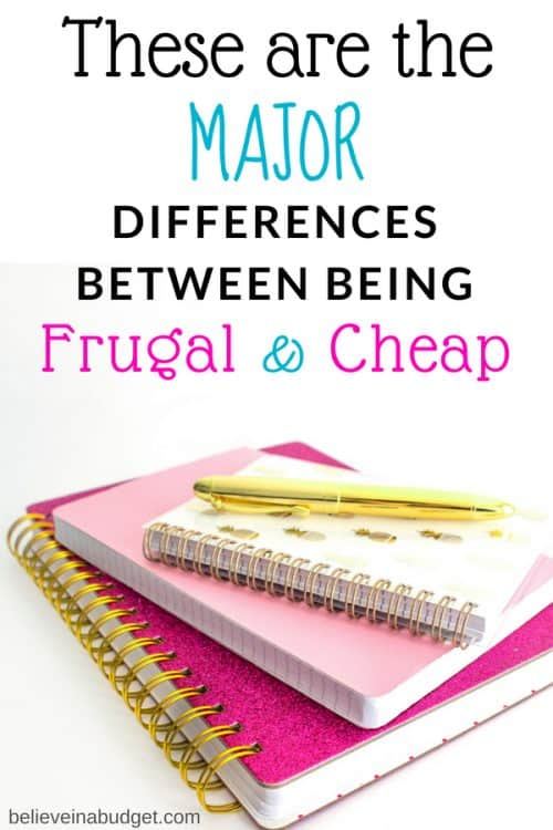 Are you frugal or cheap? I consider myself to be frugal with my budget, but I'm not cheap. Which category do you fall under?
