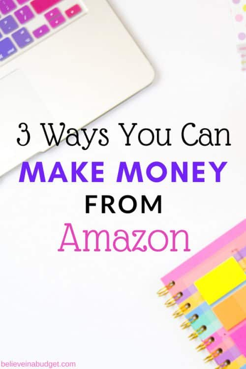 There are three ways you can make money from Amazon, with two of them being 100% free. Learn how people use Amazon to side hustle and earn extra income!