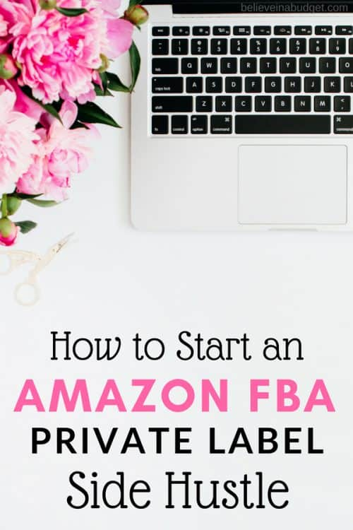 Learn how to start an Amazon FBA private label side hustle to earn extra income online.
