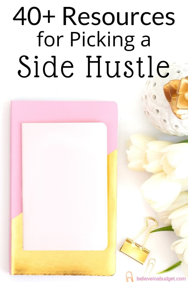 Learn how to start a side hustle and make money from this epic side hustle list!