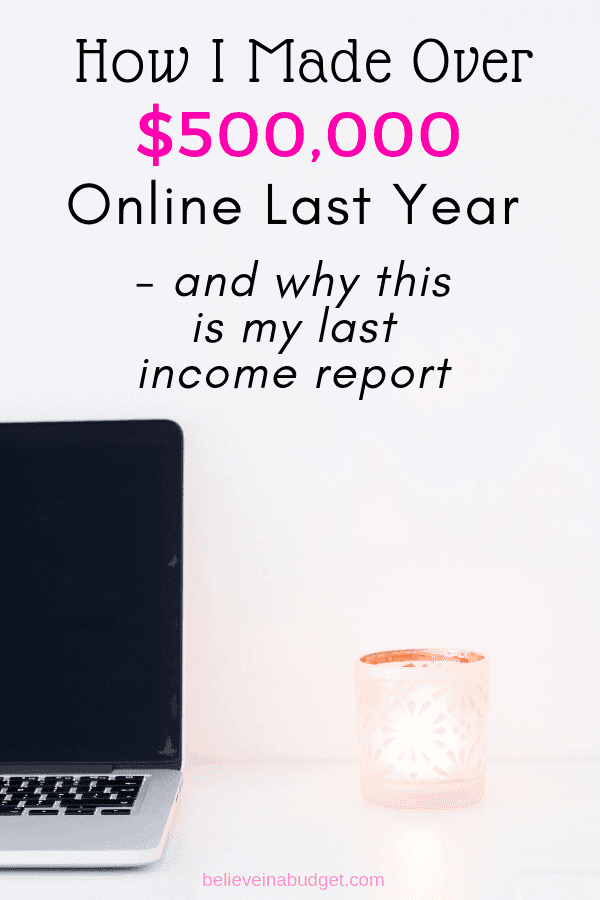 Here is my annual online income report for the entire year. Learn how I made money online, why I decided to stop sharing income reports and all of my income and expenses.